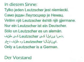 Nur ein Leutzscher ist ein Deutscher